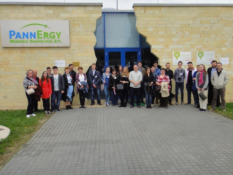 Látogatás a geotermikus hőközpontban