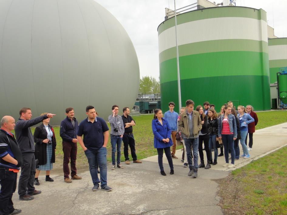 Látogatás a biogáz üzemben