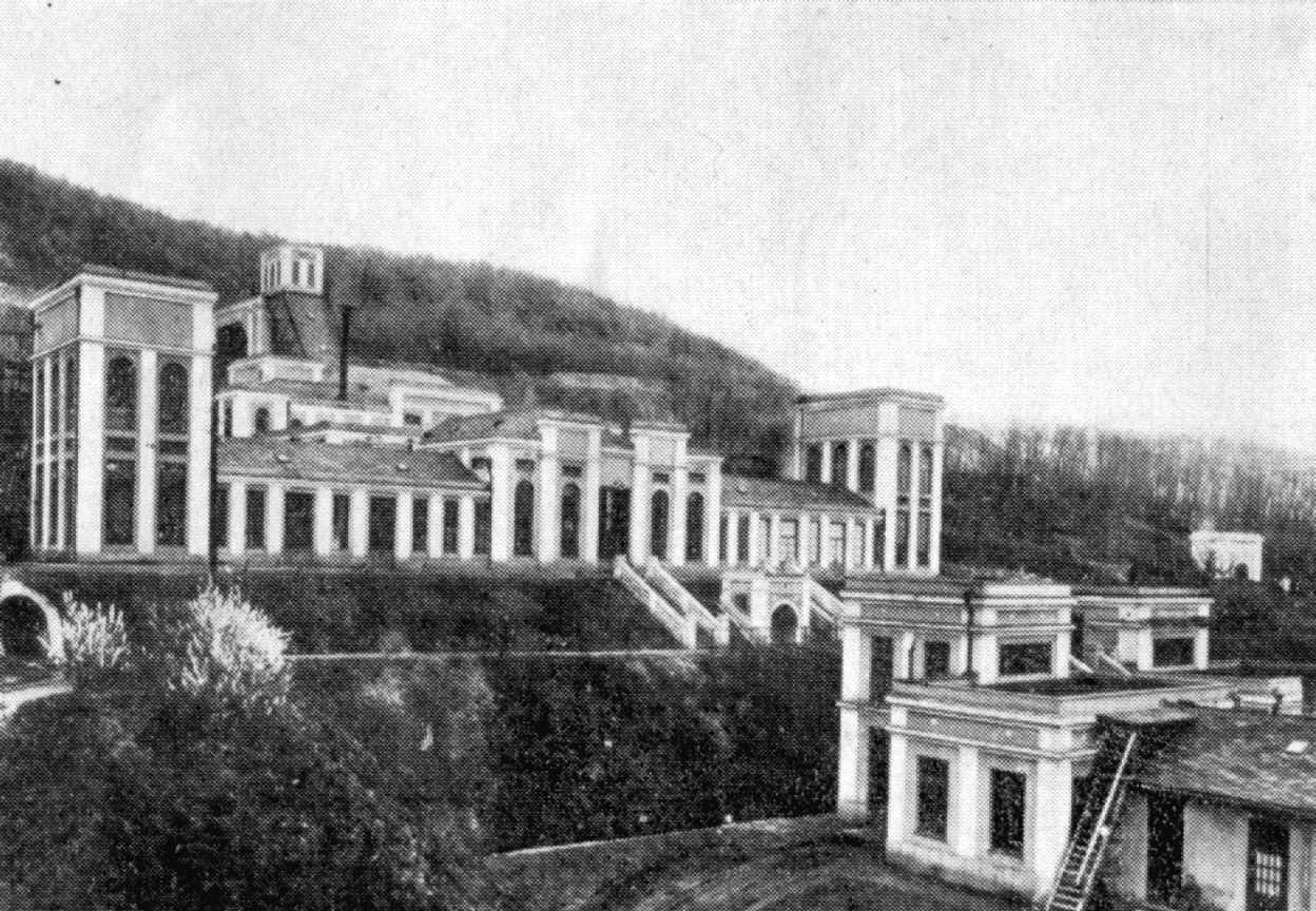 A Lahóca elbontott ipari műemlék ércelőkészítő üzeme 1937-ben