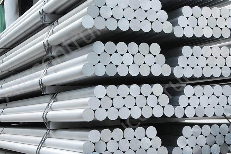 alumínium-kör-rúd